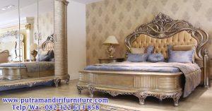 desain tempat tidur ukiran mewah