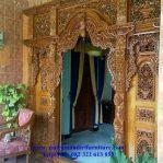 pintu gebyok rumah jawa