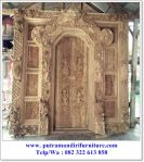 pintu gebyok motif bali