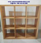 lemari buku modern Jepara