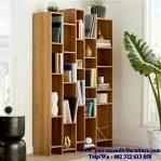 lemari buku minimalis modern
