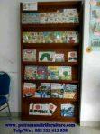lemari buku majalah anak-anak