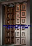 kusen Pintu rumah model mozaik