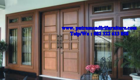 Pintu Rumah Minimalis Mewah Desain Model Furniture Jepara