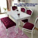 set kursi makan minimalis mewah
