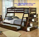 set kamar tidur tingkat anak mewah