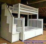 set tempat tidur tingkat anak mewah