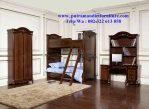 set kamar tidur anak ukiran klasik