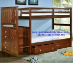 set tempat tidur anak tingkat minimalis