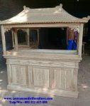 aquarium kayu minimalis ukir jepara