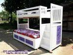 model set tempat tidur tingkat
