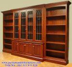 harga lemari buku kayu murah