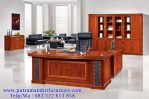 set meja kantor modern mewah terbaru