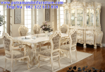 Set meja makan italian modern