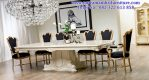 set meja makan panjang 8 kursi jepara