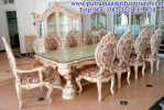 set meja makan classic italian