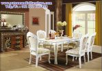 set meja makan mewah luxury modenese
