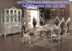 set meja makan modern elegan jepara