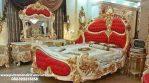 Set Tempat Tidur Ukir King Royale