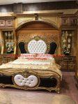 set kamar tidur pengantin italian