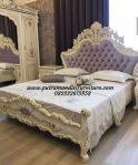 Set Tempat Tidur Ukir Venician