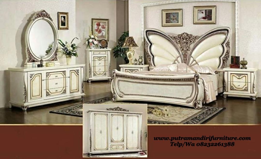 Set Tempat Tidur Klasik Kupu-kupu