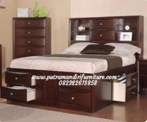 Set Tempat Tidur Anak Minimalis Laci