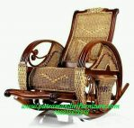 Kursi Goyang Antik Jepara