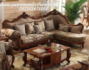 Kursi Sofa Sudut Ketty Classic