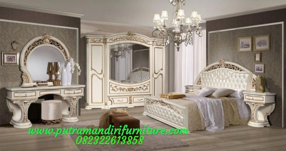 Set Tempat Tidur Ukir Milano