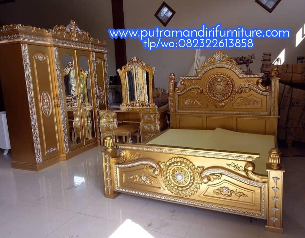 Set Kamar Tidur Gong Gold