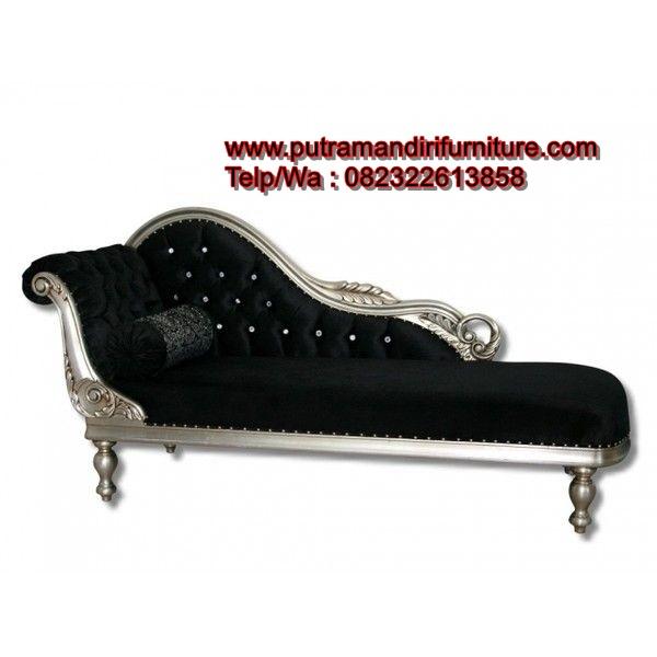 Bangku Sofa Sudut Silver
