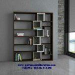 lemari buku desain terbaru