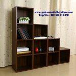 lemari buku minimalis kantor