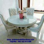 desain set kursi makan minimalis mewah