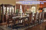 set meja makan ukiran vendome