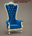 Kursi Sofa Princes Syahrini Biru
