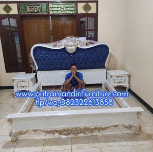 Set Kamar Tidur Ukir Modern Custom